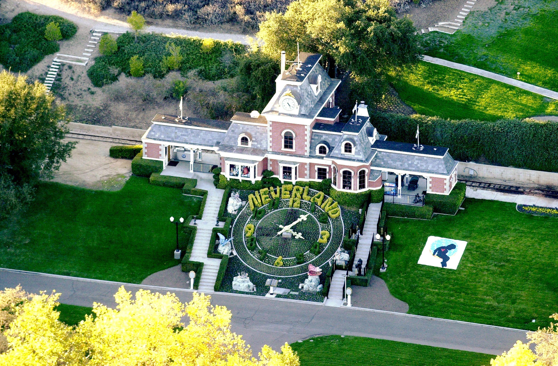 Michael Jackson's Neverland Ranch near Santa Barbara, Calif.