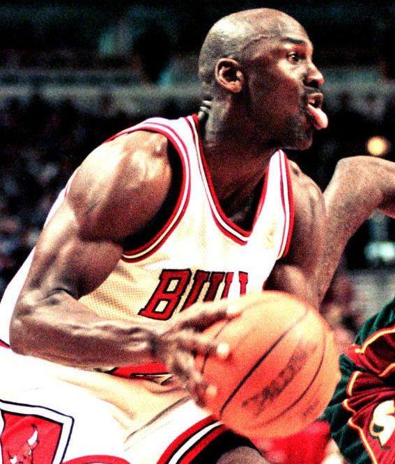michael jordan biceps