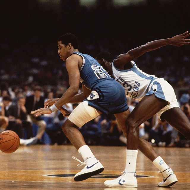 Michael Jordan Reaching For the Ball