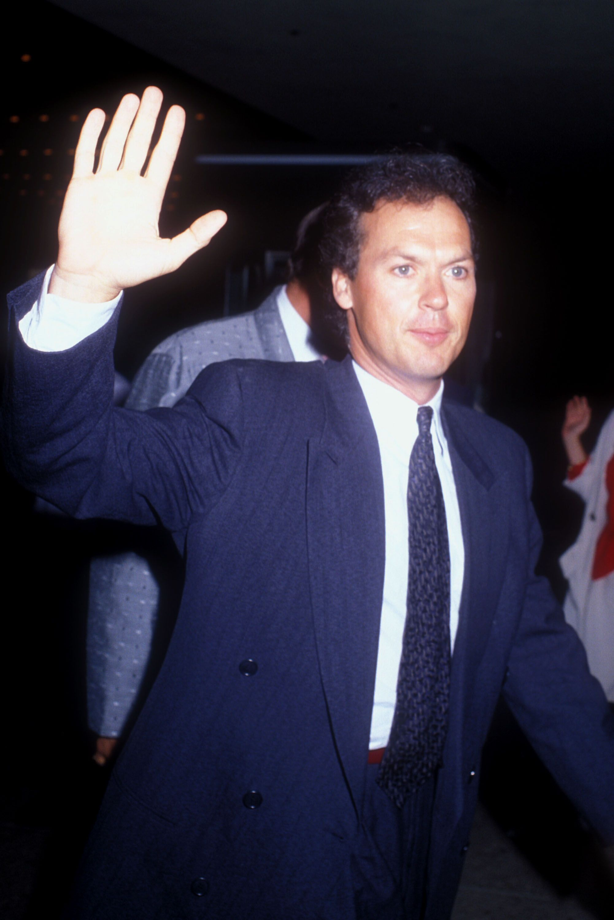 Michael Keaton at 36 Before he was Birdman, Keaton was Batman.