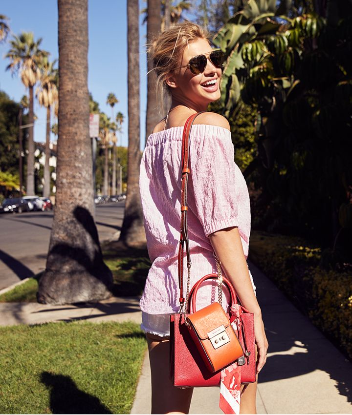 Nieuwe trend uit Los Angeles: gecustomizede Michael Kors tassen