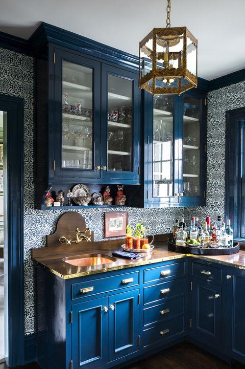 Image Paul Raeside Blue Cabinets