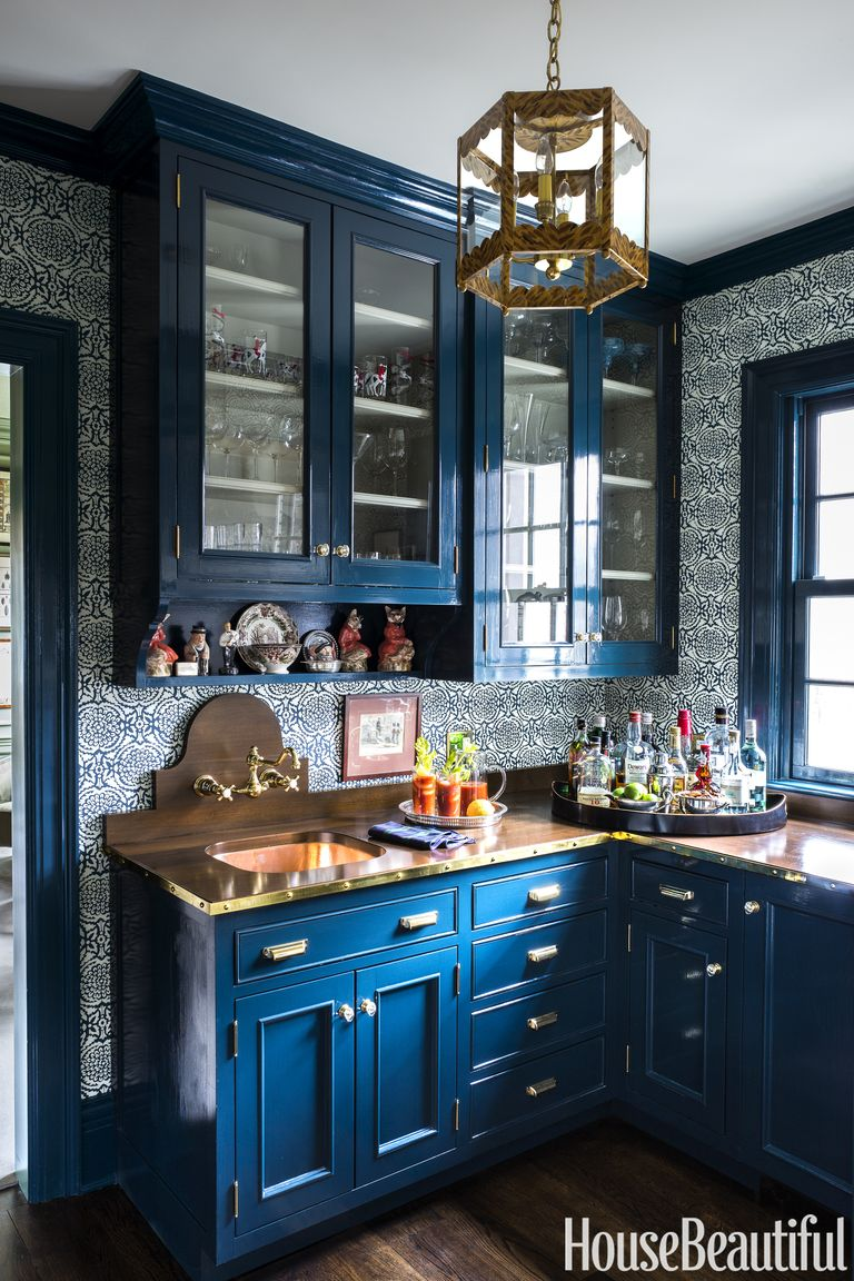 Tips For Kitchen Color Ideas: A Bright Color Palette Refreshes This 100-Year-Old
