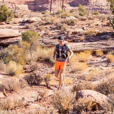 Michael McKnight runs Moab 240 in 2019