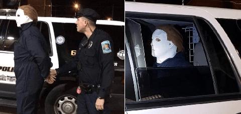 Michael Myers detenido