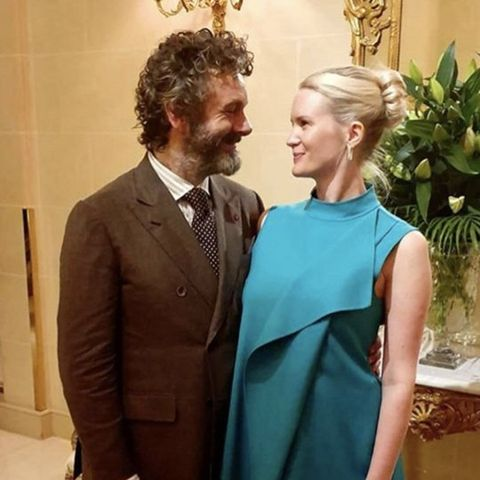 Good Omens star Michael Sheen announces he's expecting a baby with his partner Anna Lundberg