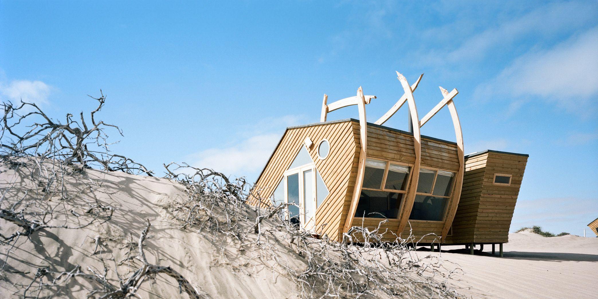 Shipwreck Lodge, parco nazionale di Skeleton Coast, Namibia, Nina Maritz Architects