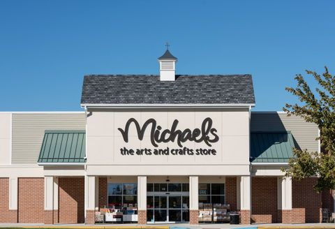 michaels arts and crafts store exterior