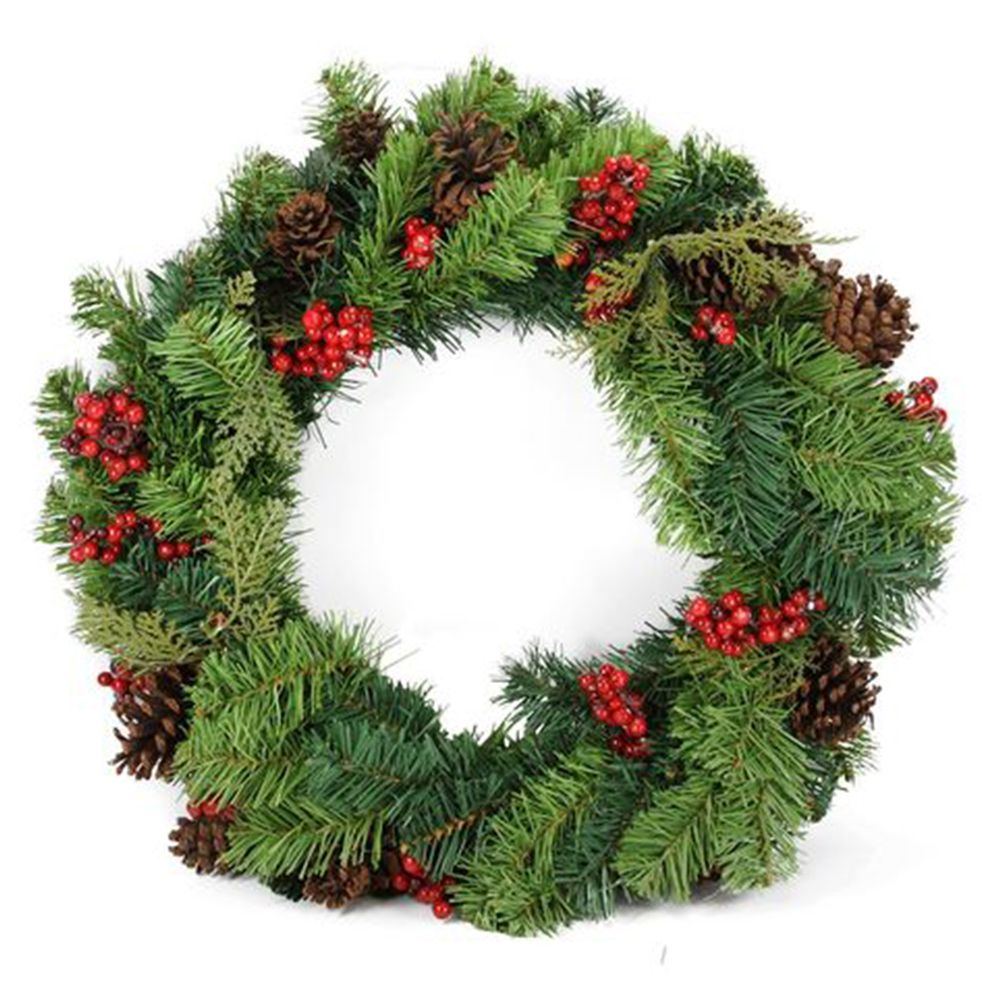 12 best christmas wreaths for your front door holiday wreaths for 2018 - Michaels Outdoor Christmas Decorations