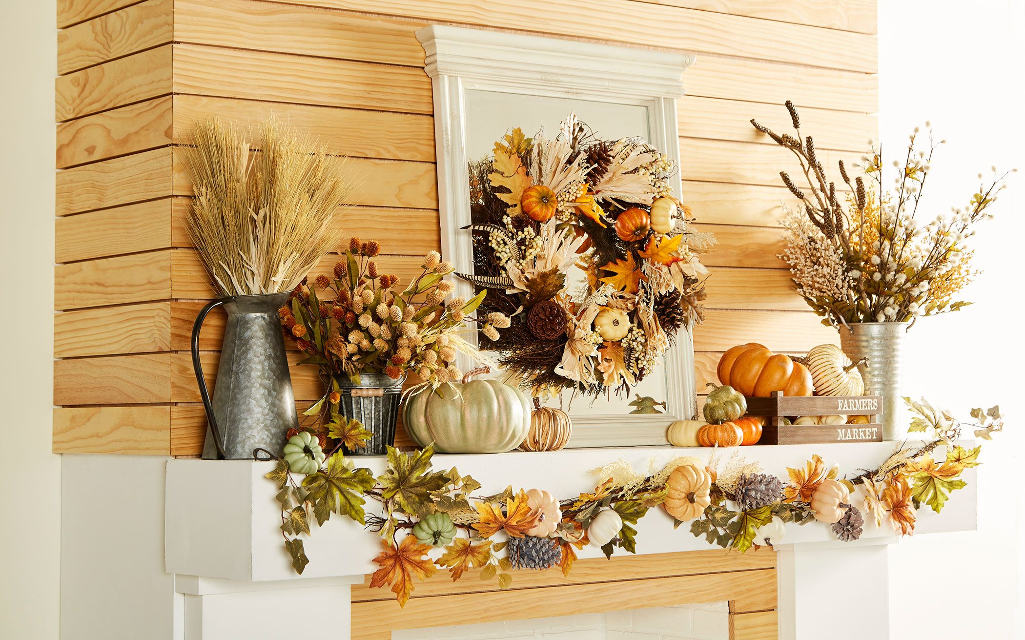 Michaels Fall Decor Decorating Ideas For The Mantel Table And Outside