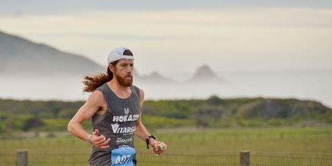 Michael Wardian at Big Sur
