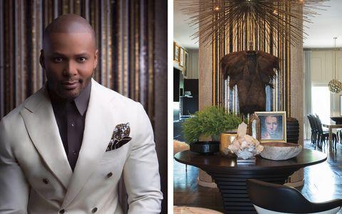 Suit, Formal wear, White-collar worker, Tuxedo, Outerwear, Room, Interior design, Style,