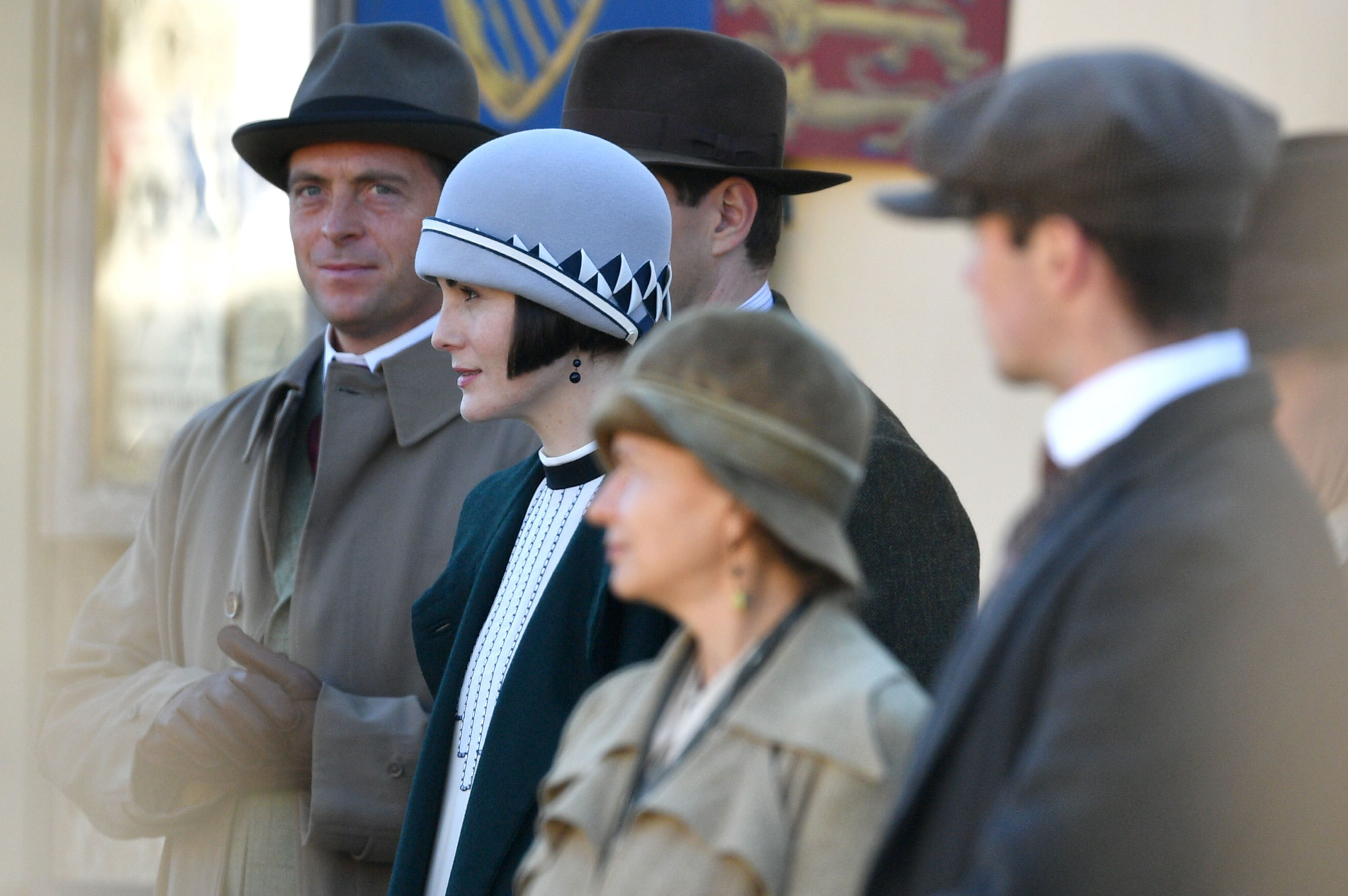 Downton Abbey Movie Cast New Characters Who Plays King