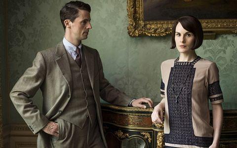 """Henry Talbot y Michelle Dockery en """"Downton Abbey"""""""