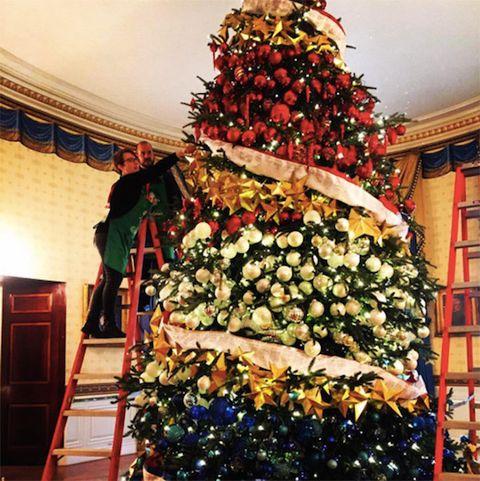Event, Christmas decoration, Christmas ornament, Christmas tree, Interior design, Holiday, Interior design, Tradition, Door, Christmas eve,