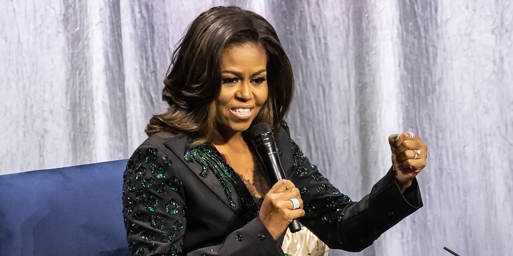 Michelle Obama becoming amsterdam