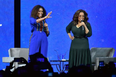 oprah's 2020 vision your life in focus tour with special guest michelle obama