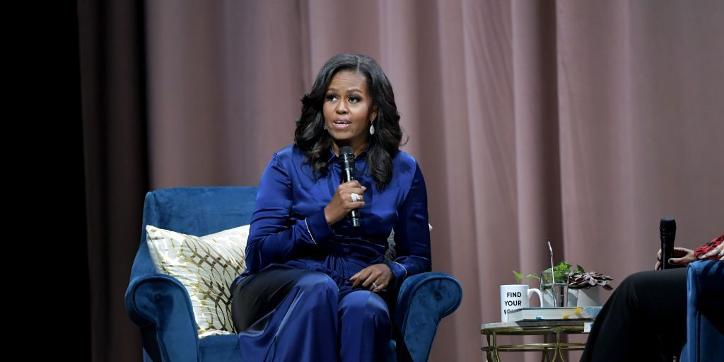 Michelle Obama Discusses Her New Book 'Becoming' With Michelle Norris