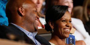Craig Robinson, chi è il fratello maggiore di Michelle Obama star dell'NBA