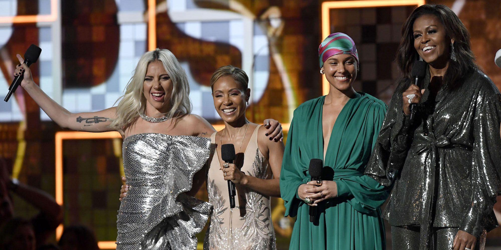 Michelle Obama geeft prachtige speech bij Grammy Awards 2019