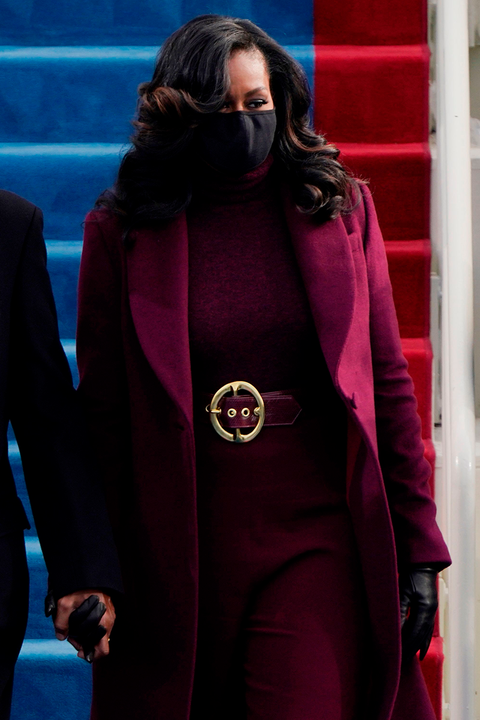 Michelle Obama's purple inauguration outfit is symbolic