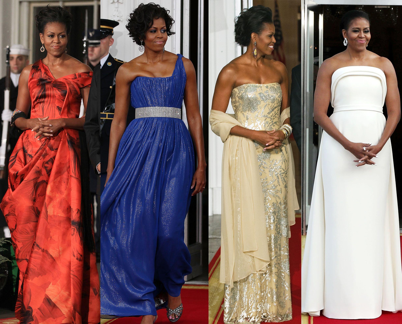 obama s best state dinner dresses