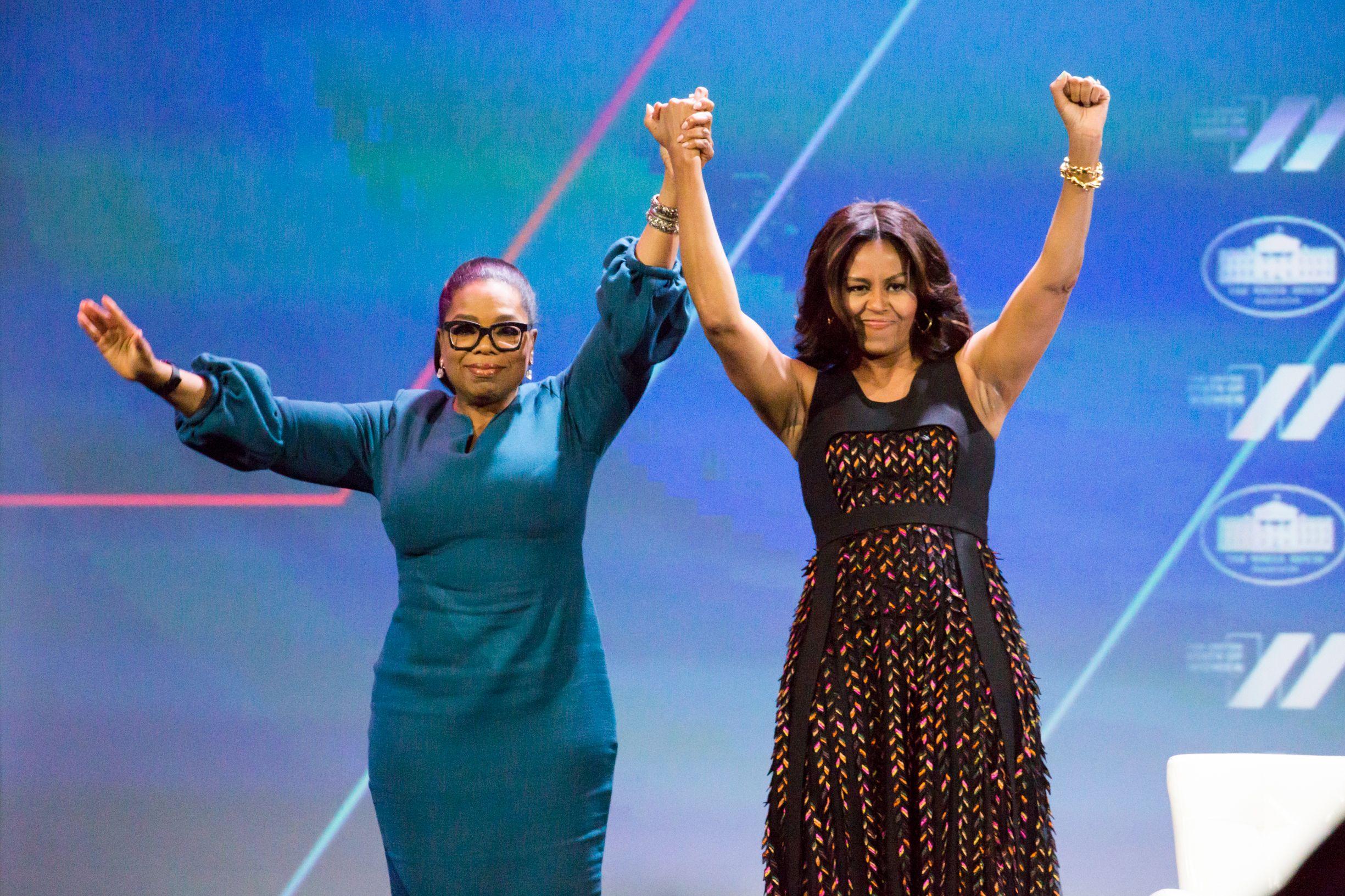 "Michelle Obama tells Oprah Winfrey that the White House ""takes a toll"""