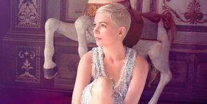 Michelle Williams on subscribers' cover