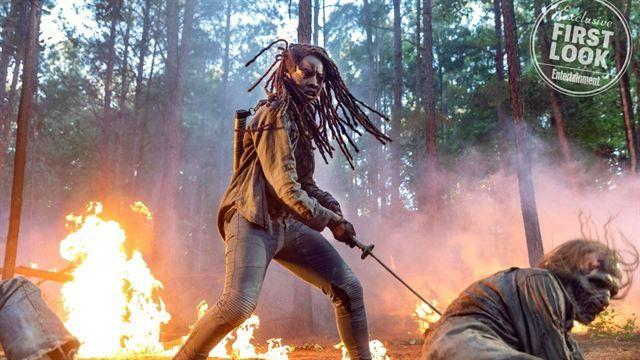 'The Walking Dead' Michonne Final Trailer Temporada 10 - ComicCon