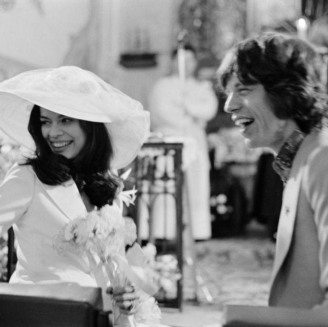 mick and bianca jagger wedding