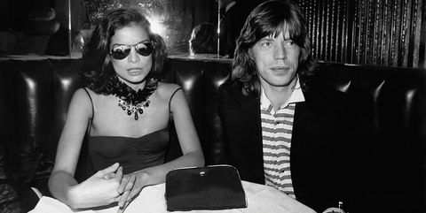 mick jagger and wife bianca jagger