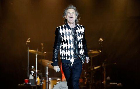Mick Jagger concierto Chicago operación de corazón