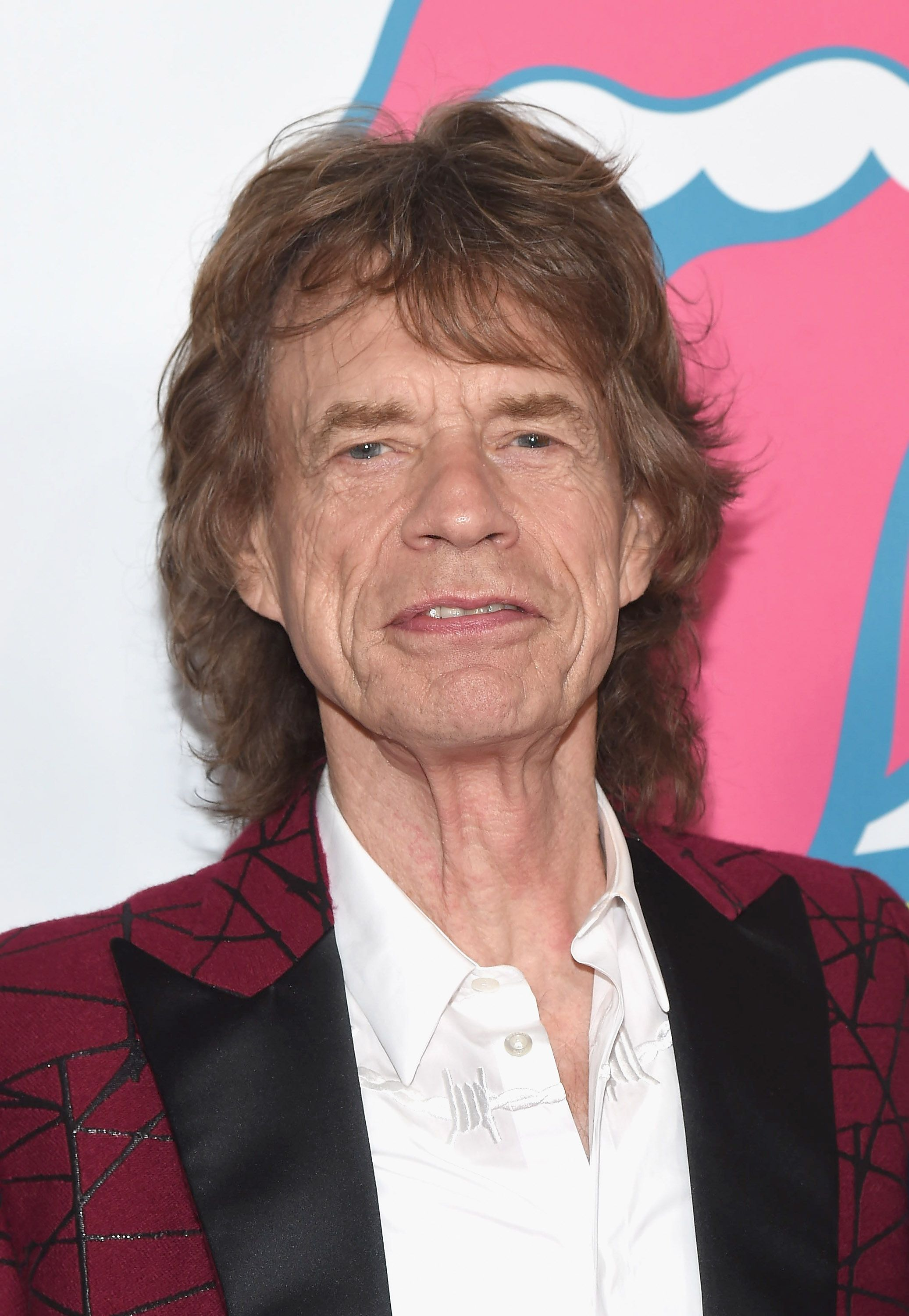 Mick Jagger at 72 Somehow, the musician has maintained his classic mane all these decades later.