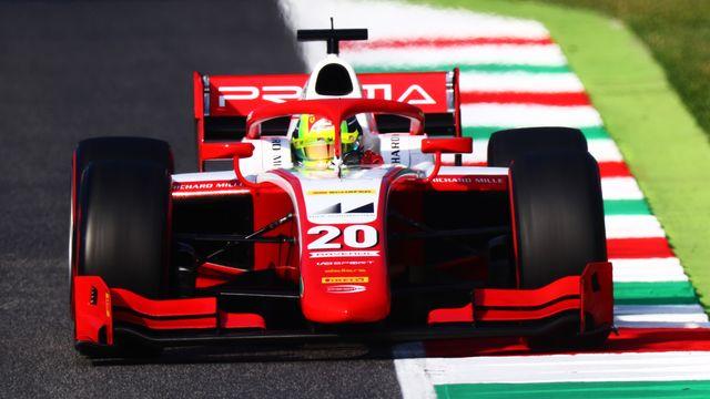 formula 2 championship   round 9mugello   practice  qualifying