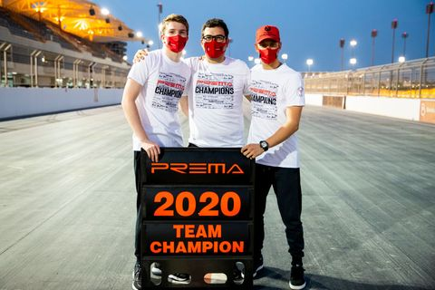 formula 2 championship   round 12sakhir   feature race
