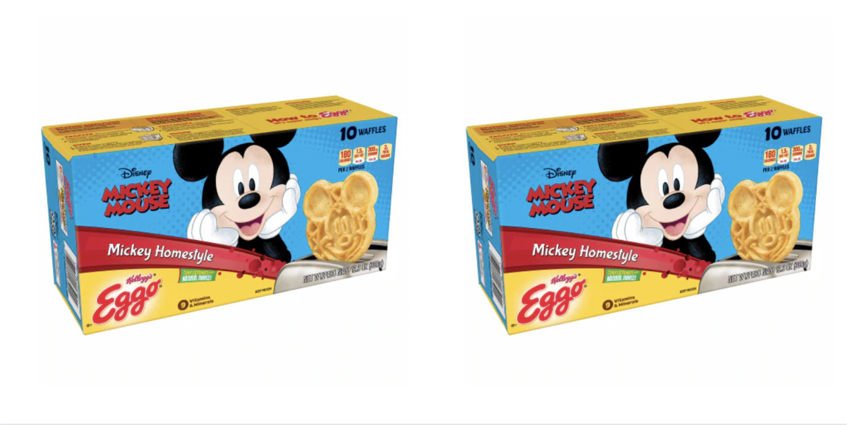 Eggo Makes Mickey Mouse Waffles So Breakfast Can Be Magical