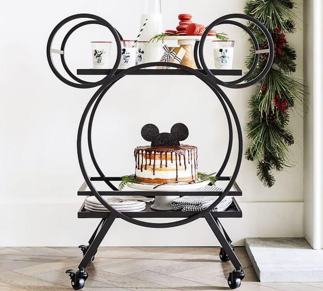 mickey mouse bar cart