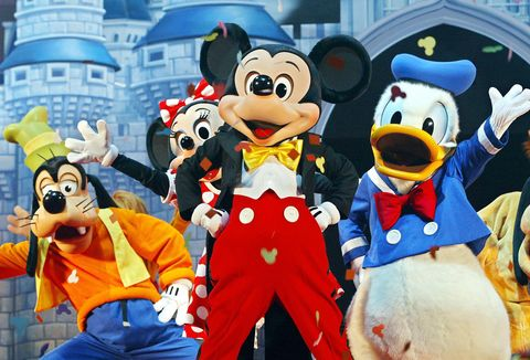 Mickey Mouse (C) and other Walt Disney c