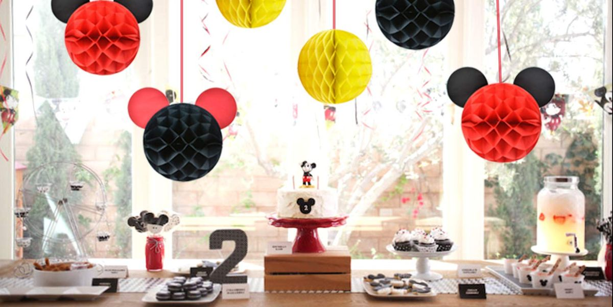 20 Mickey Mouse Birthday Party Ideas How To Throw A Themed 1st