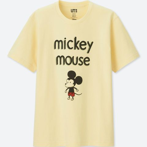 Uniqlo y sus camisetas de Mickey Mouse