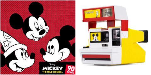 Polaroid,米奇,90週年,拍立得