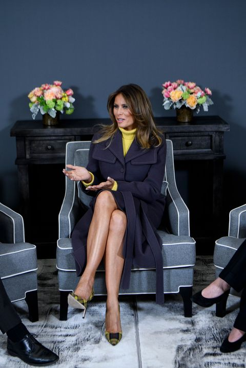 50cce5284792 Melania Trump Style as First Lady - Photos of Melania Trump Fashion