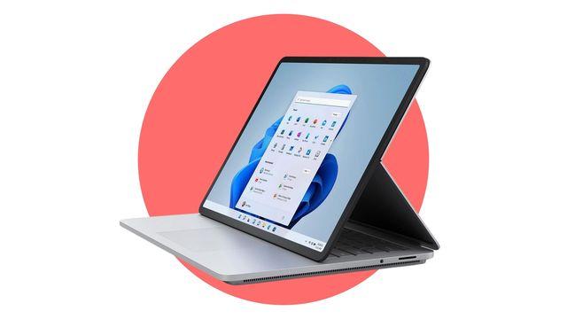 imagen del ordenador convertible en tableta microsoft surface laptop studio