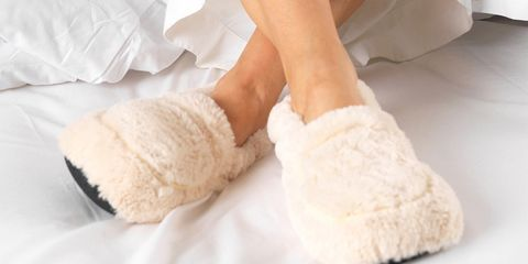 Throw These $20 Slippers In The Microwave For The Coziest Night Ever