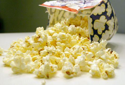 Kettle corn, Popcorn, Food, Dish, Cuisine, Snack, Dairy, Ingredient,