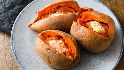 Best Microwave Sweet Potato Recipe — How To Make Microwave ...