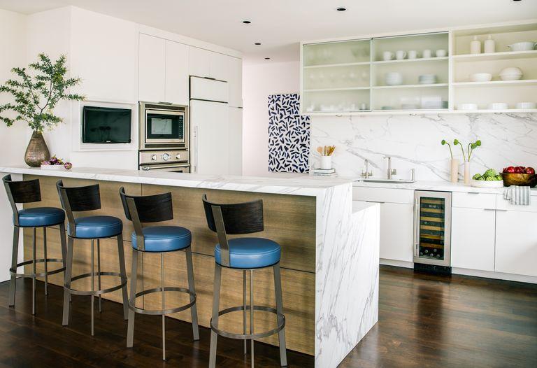 50 Best Modern Kitchen Design Ideas For 2019: Mid-Century Modern Bachelor Pad Ideas
