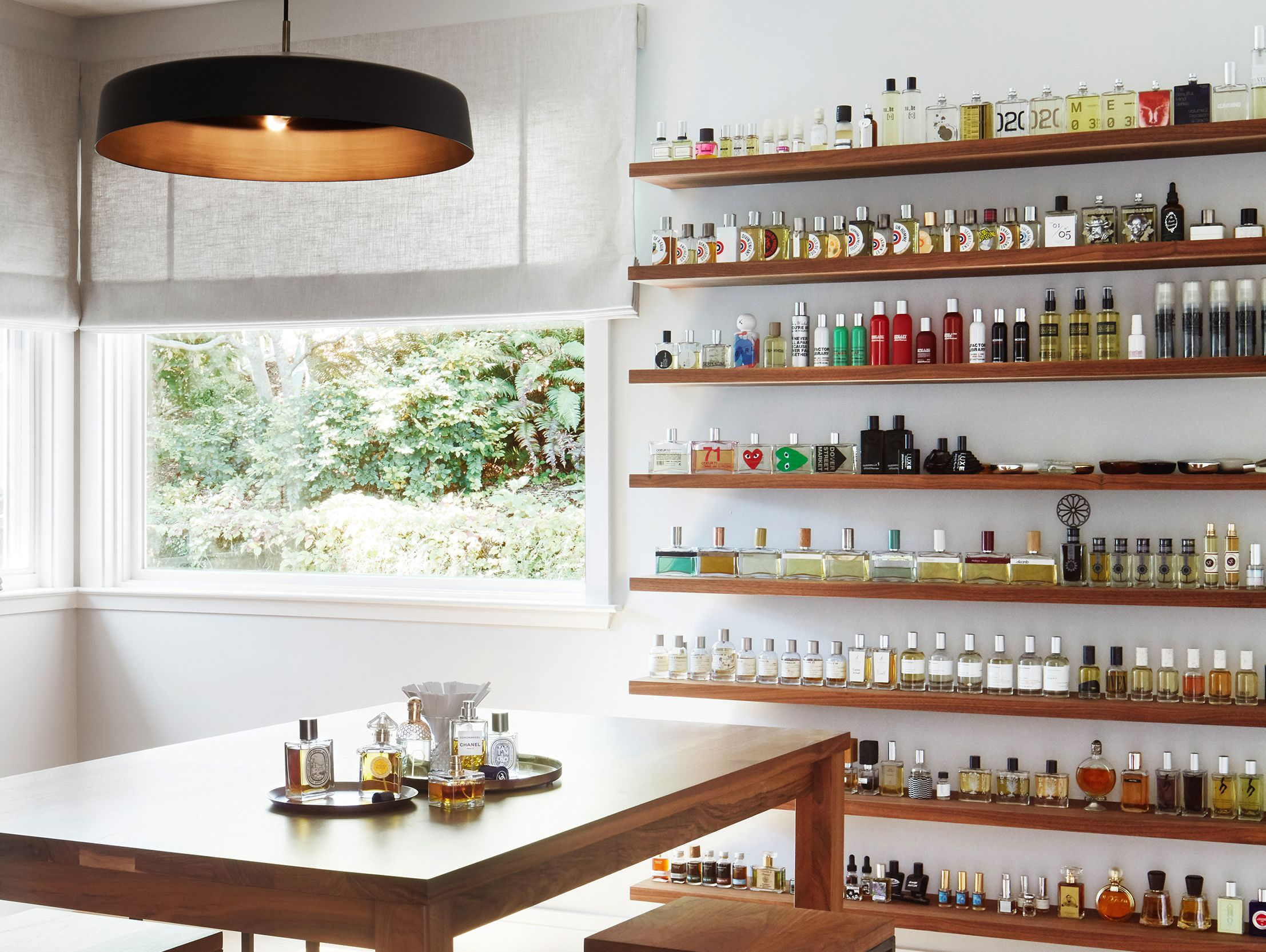 Tour a mid century modern home in california with its own perfumery
