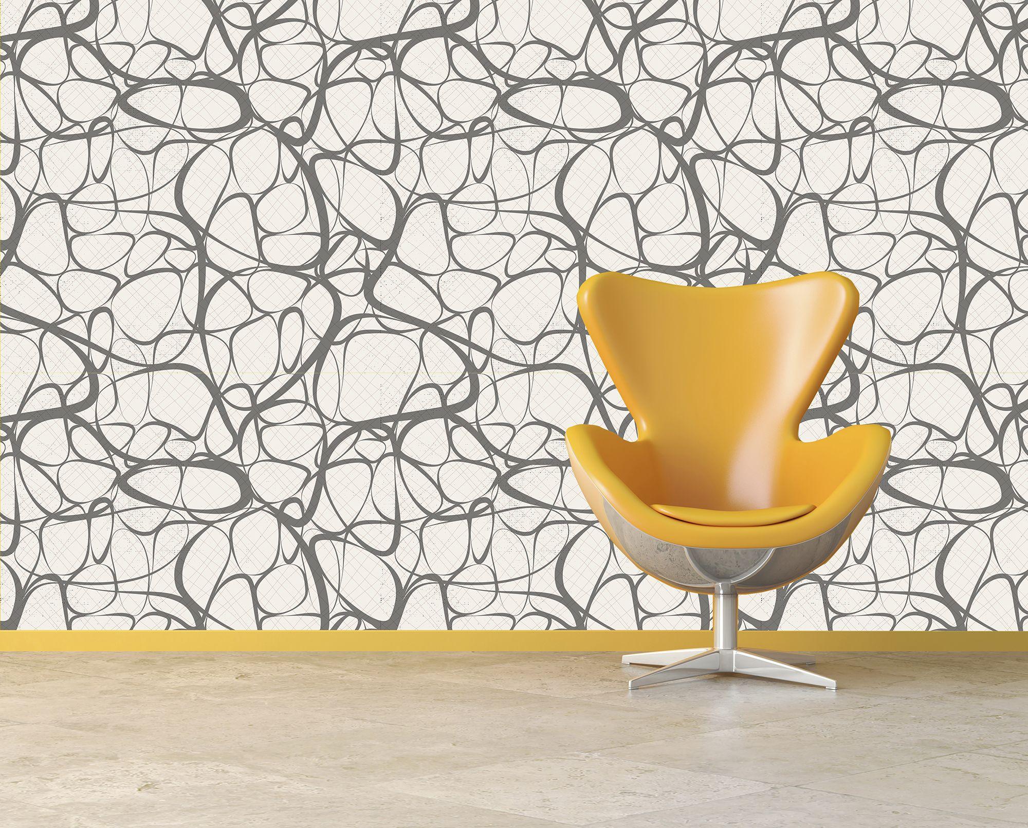 MidCentury Modern Wallpaper Ideas - Modern wallpaper