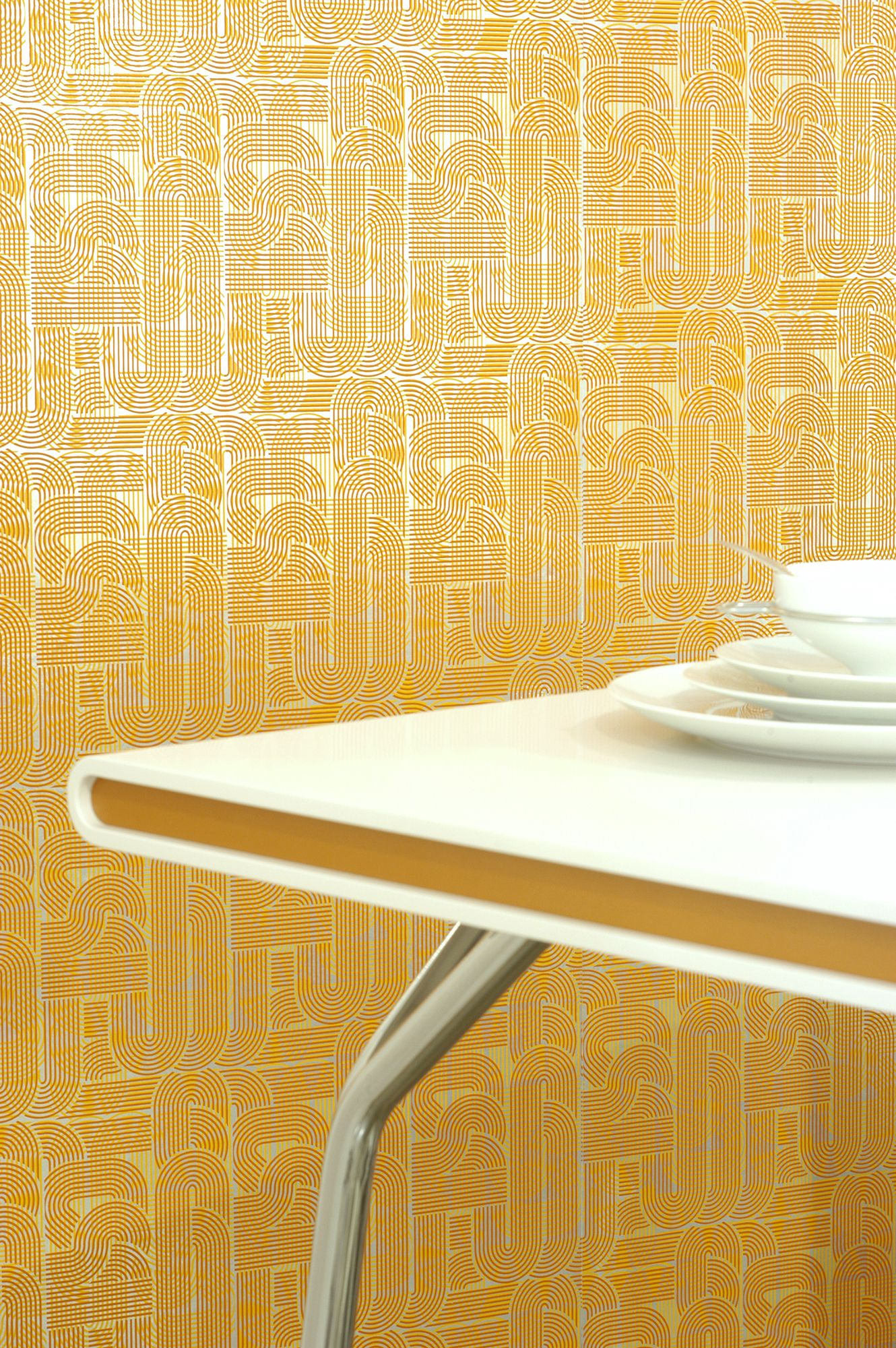 21 Mid-Century Modern Wallpaper Ideas